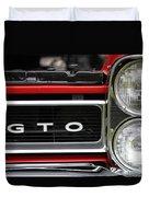 Pontiac Gto Front Duvet Cover