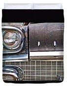 Pontiac Lights Duvet Cover