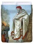 Pontifex Maximus, Illustration Duvet Cover