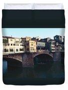 Ponto Vecchio Florence Palette Duvet Cover