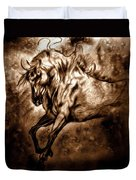 Pony Express Duvet Cover