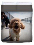Poodle Dog Duvet Cover