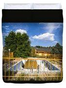 Pool Garden Duvet Cover