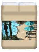 Pooldeck1145b Duvet Cover