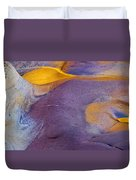 Pools Of Gold Duvet Cover