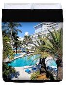 Poolside 01 Duvet Cover