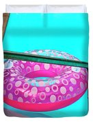 Pool Time Palm Springs Duvet Cover