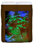 Poolwater Abstract Duvet Cover