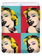 Pop Art Collage  Duvet Cover