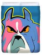 Pop Art Dog  Duvet Cover