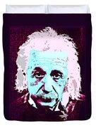 Pop Art Einstein No 3 Duvet Cover