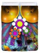 Pop Art Flower Duvet Cover