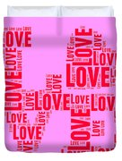 Pop Love 4 Duvet Cover
