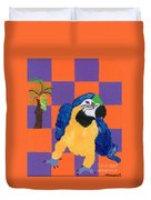 Pop Parrot Duvet Cover