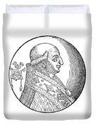 Pope Gregory II (d Duvet Cover