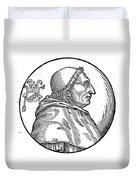Pope Innocent Viii (1432-1492) Duvet Cover