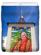Pope John II Duvet Cover