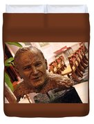 Pope John Paul II In St. Matthew's Cathedral -- 2 Duvet Cover