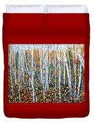 Poplar Art Duvet Cover