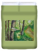 Poplar Point Camp Duvet Cover