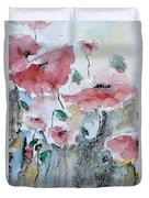 Poppies 01 Duvet Cover