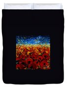 Poppies 2 Duvet Cover