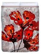 Poppies 47 Duvet Cover