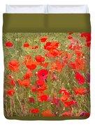 Poppies Vii Duvet Cover
