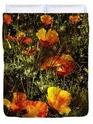 Poppies Will Make Them Sleep Duvet Cover