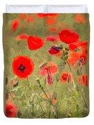 Poppies X Duvet Cover