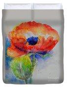 Poppy 1 Duvet Cover