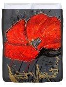 Poppy 43 Duvet Cover