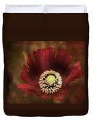 Poppy At Days End Duvet Cover