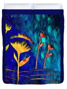 Poppy At Night Abstract 3  Duvet Cover
