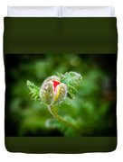 Poppy Bud Duvet Cover