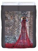 Poppy Cascade Duvet Cover