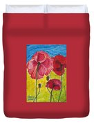 Poppy Family Duvet Cover