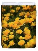 Poppy Fields  Duvet Cover