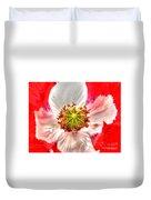 Poppy Flower Duvet Cover