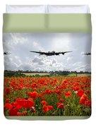 Poppy Fly Past Duvet Cover