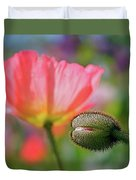 Poppy In Waiting Duvet Cover
