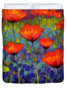 Poppy Meadow   Cropped 2 Duvet Cover