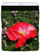 Poppy On Thyme  Duvet Cover