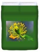 Poppy Seed Capsule 2 Duvet Cover