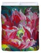 Poppy's Secret  Duvet Cover by Talya Johnson