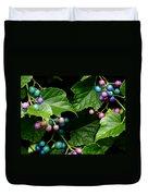 Porcelain Berries Duvet Cover