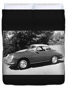 Porsche 356 Hardtop Duvet Cover