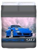 Porsche 911 No 1 Duvet Cover