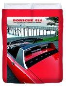 Porsche 914 II Duvet Cover