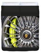 Porsche 918 Wheel Duvet Cover
